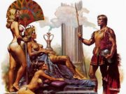 "Борис Вальехо (Boris Vallejo), ""Gracus the centurion"""