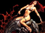 "Борис Вальехо (Boris Vallejo), ""The black charger"""