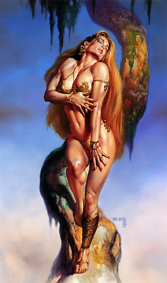"Борис Вальехо (Boris Vallejo), ""Mistress of desire"""