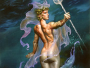 "Борис Вальехо (Boris Vallejo), ""Mistress Of The Ocean"""