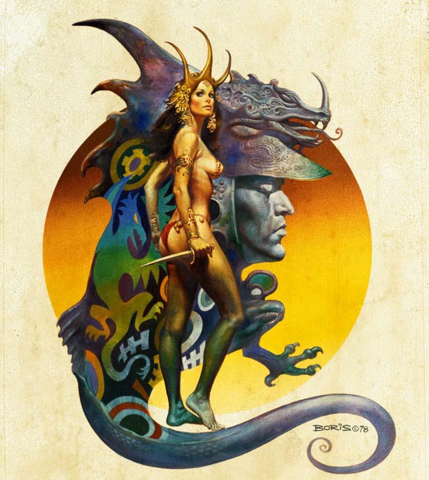 """Борис Вальехо (Boris Vallejo), """"Dragon"""""""
