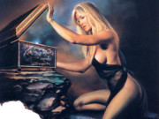 "Борис Вальехо (Boris Vallejo), ""Ladies Pandora"""
