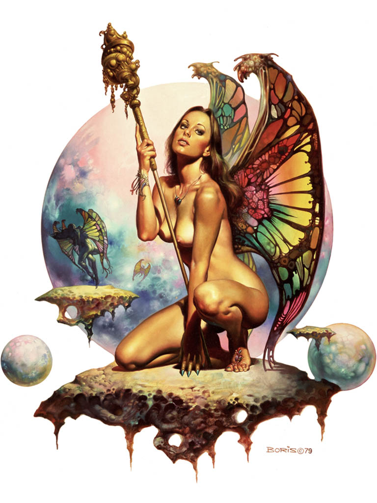 "Борис Вальехо (Boris Vallejo), ""Butterfly Wings"""