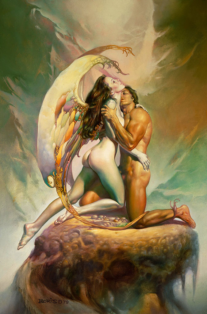 "Борис Вальехо (Boris Vallejo), ""Forever Moments"""