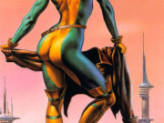 "Борис Вальехо (Boris Vallejo), ""Above the city"""