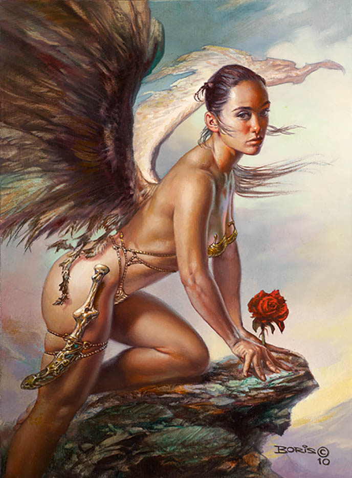 "Борис Вальехо (Boris Vallejo), ""Her Private Garden"""