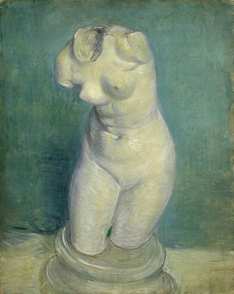 """Винсент ван Гог (Vincent van Gogh), """"Гипсовый женский торс"""""""