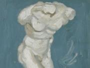 """Винсент ван Гог (Vincent van Gogh), """"Гипсовая статуэтка мужского торса"""""""