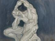 """Винсент ван Гог (Vincent van Gogh), """"Гипсовая статуэтка коленопреклоненного мужчины"""""""