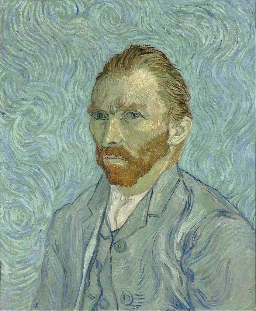 """Винсент ван Гог (Vincent van Gogh), """"Автопортрет"""""""