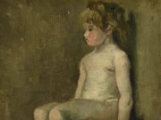 """Винсент ван Гог (Vincent van Gogh), """"Девочка, сидящая голышом"""""""