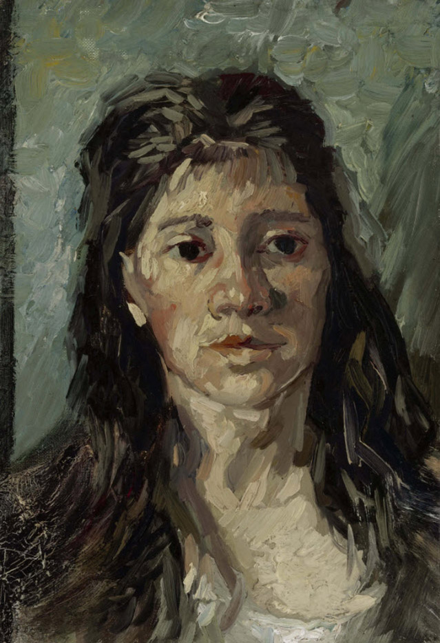 "Винсент ван Гог (Vincent van Gogh), ""Голова проститутки"""