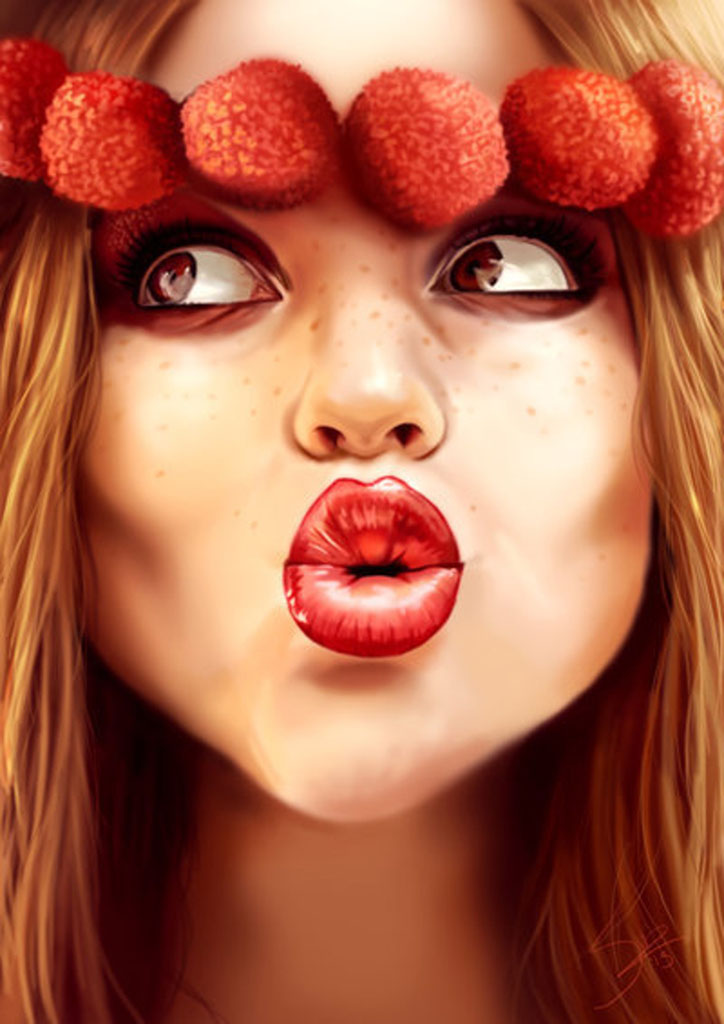 """Сюзанна Ван Пелт (Suzanne Van Pelt - Anathematixs) """"Tutti Frutti Lichi"""""""