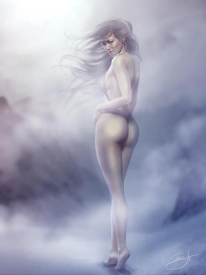 "Сюзанна Ван Пелт (Suzanne Van Pelt - Anathematixs) ""Snow Angel"""