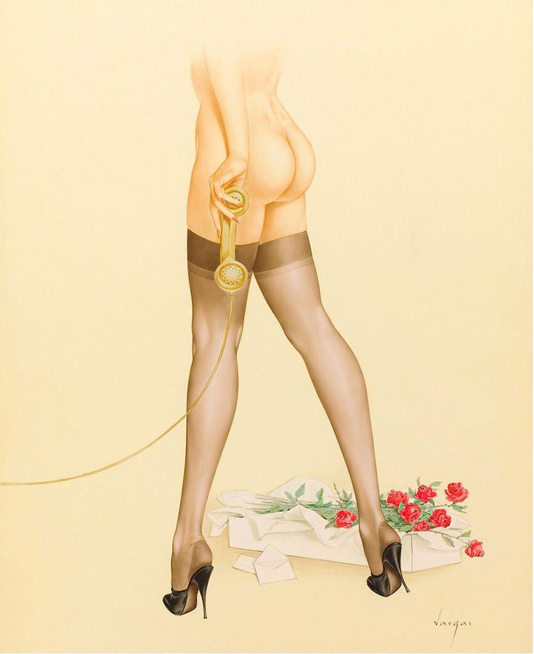 Erotic art calendar girls