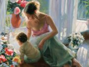 "Владимир Волегов (Vladimir Volegov) ""Mother and son"""