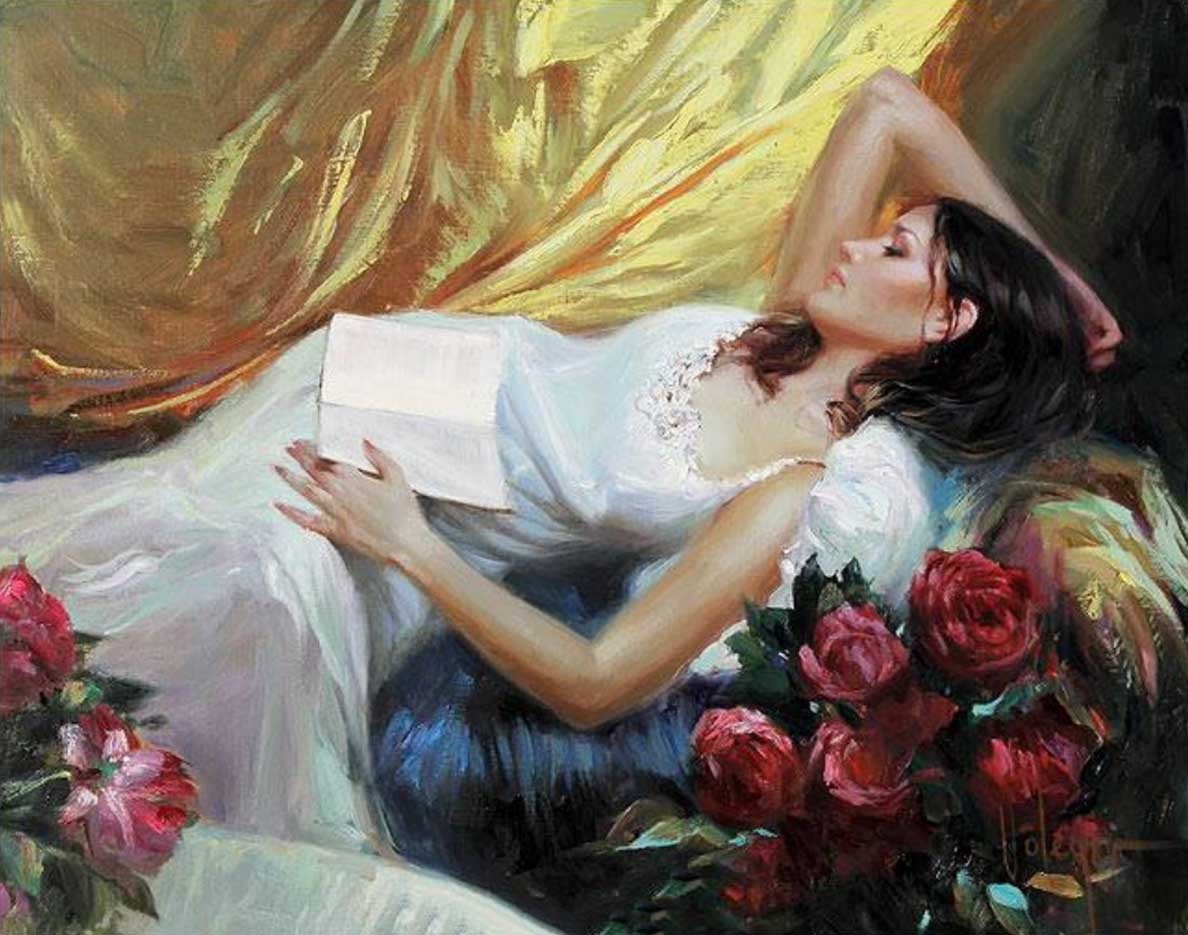 """Владимир Волегов (Vladimir Volegov) """"Lying with a book"""""""