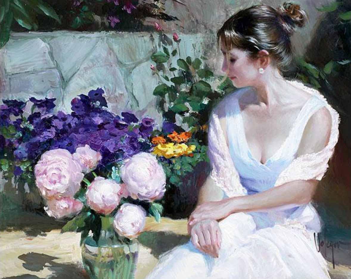 """Владимир Волегов (Vladimir Volegov) """"Roses pionies"""""""