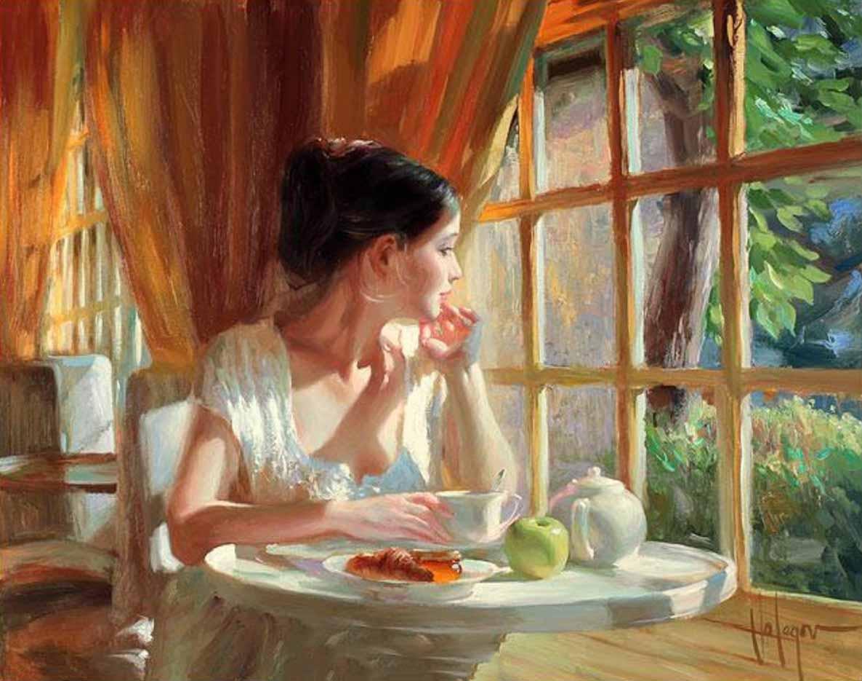 "Владимир Волегов (Vladimir Volegov) ""Sunny breakfast"""