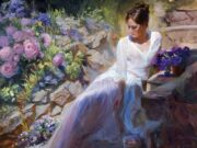 "Владимир Волегов (Vladimir Volegov) ""Begining of purple summer"""