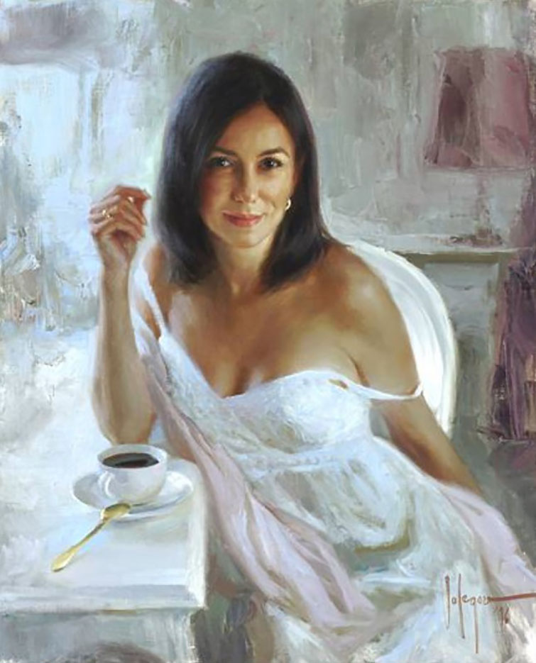 "Владимир Волегов (Vladimir Volegov) ""Portrait of Elena"""