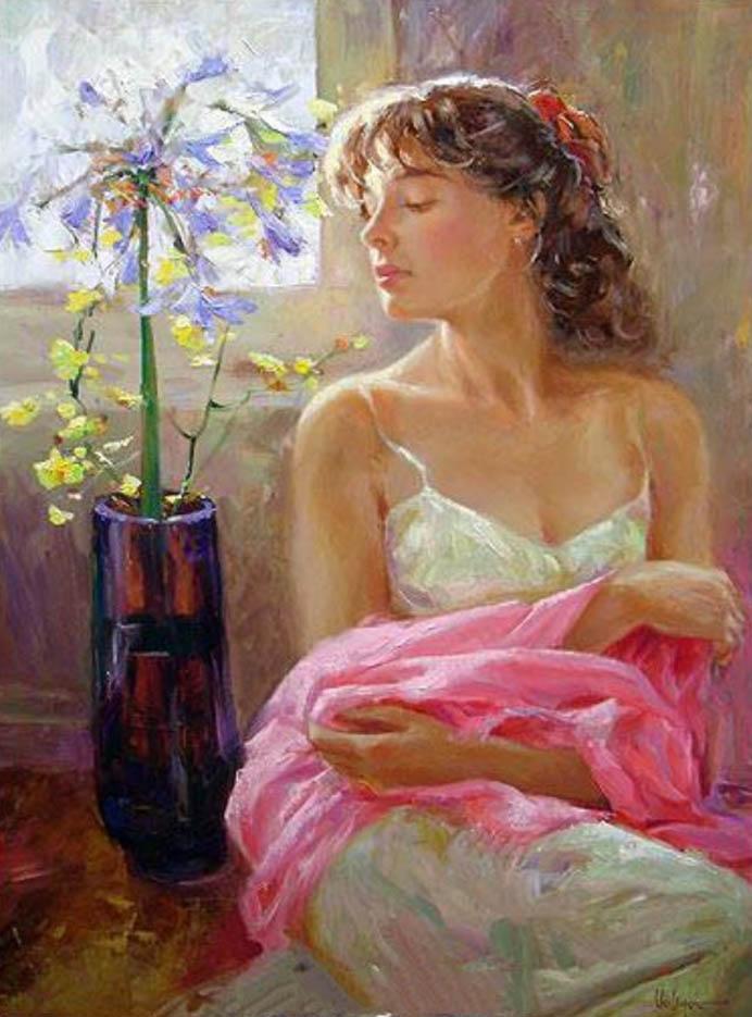 """Владимир Волегов (Vladimir Volegov) """"Tenderness pink"""""""