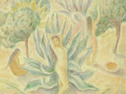 "Мария Воробьёва-Стебельская (Маревна) - Marie Vorobieff (Marevna) ""The Orange Harvest"""