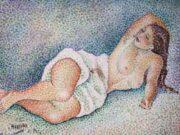 "Мария Воробьёва-Стебельская (Маревна) - Marie Vorobieff (Marevna) ""Untitled - 51"""