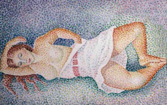 "Мария Воробьёва-Стебельская (Маревна) - Marie Vorobieff (Marevna) ""Untitled - 53"""