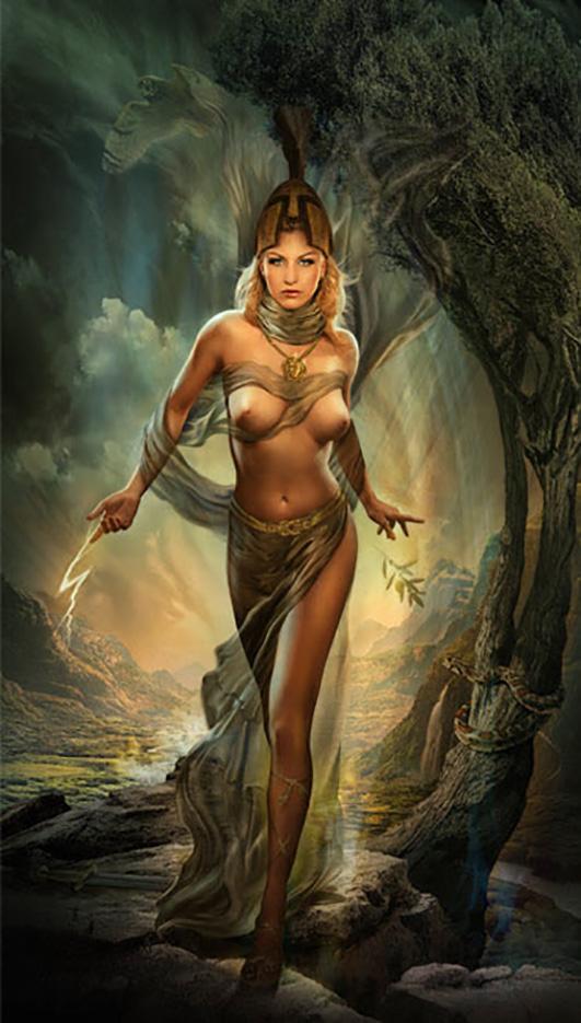 Джефф Вак (Jeff Wack), Athena, Goddess Collection