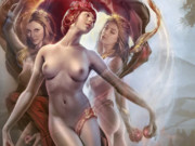 Джефф Вак (Jeff Wack), The Charites, Goddess Collection