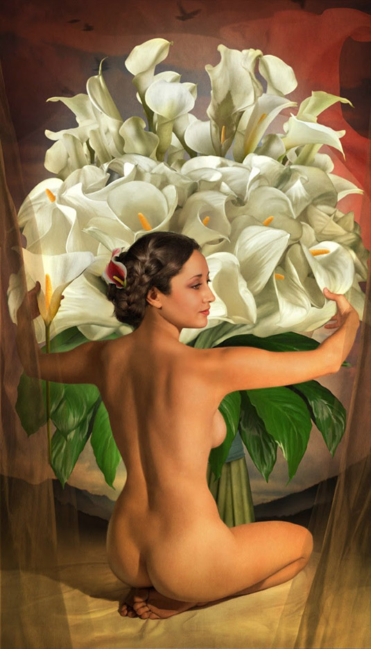 Джефф Вак (Jeff Wack), Flores Del Amor, Homage Collection