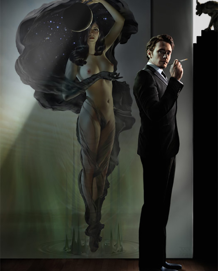 Джефф Вак (Jeff Wack), James Franco with Nyx, Los Angeles Collection