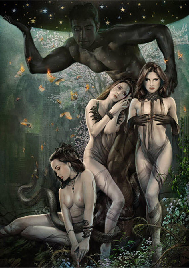 Джефф Вак (Jeff Wack), Angels of Elysium, Los Angeles Collection