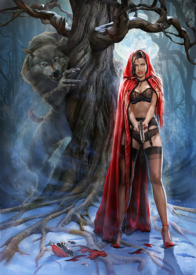 Джефф Вак (Jeff Wack), Red Riding Hood, Publishin