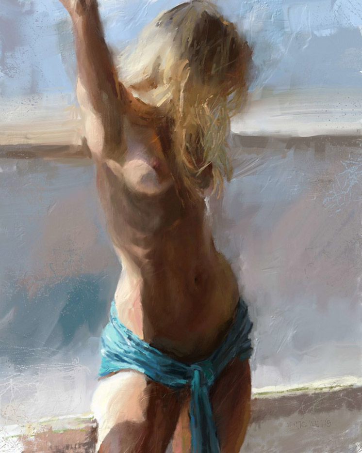 "Эрик Уоллис (Eric Wallis) ""Nude By a Window"""