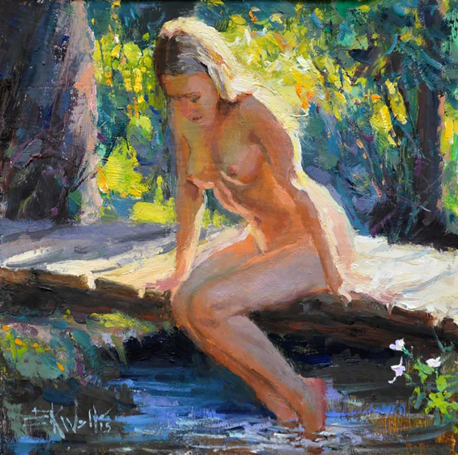 "Эрик Уоллис (Eric Wallis) ""Untitled – 109"""