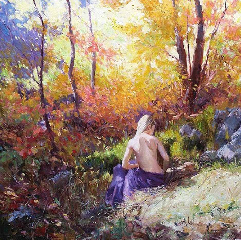 "Эрик Уоллис (Eric Wallis) ""Untitled – 110"""