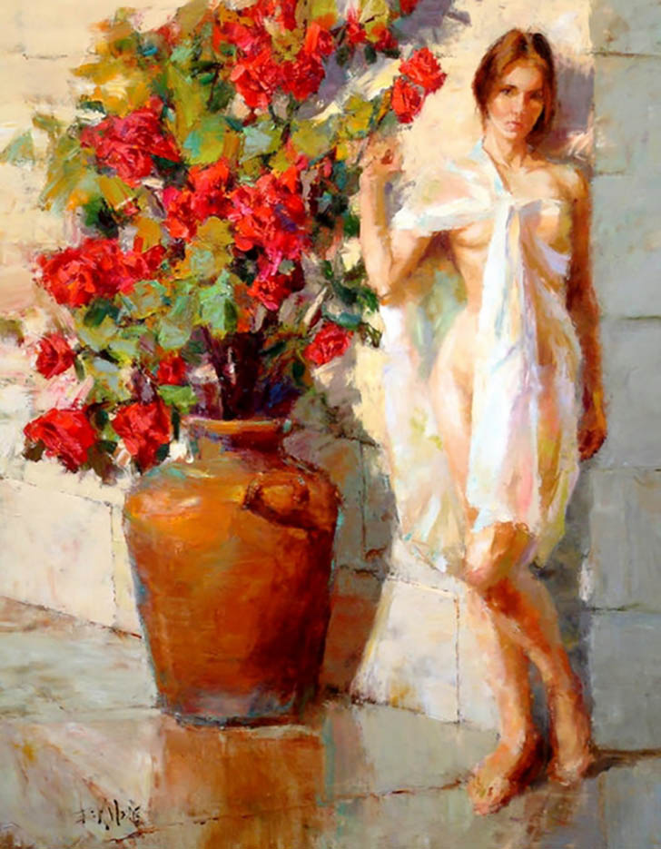 "Эрик Уоллис (Eric Wallis) ""Untitled – 124"""