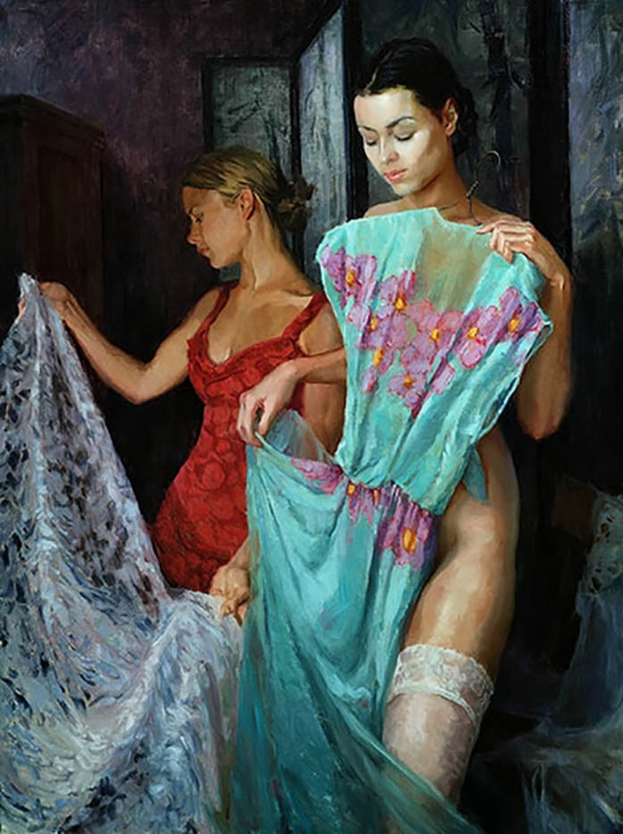 "Эрик Уоллис (Eric Wallis) ""Untitled – 126"""