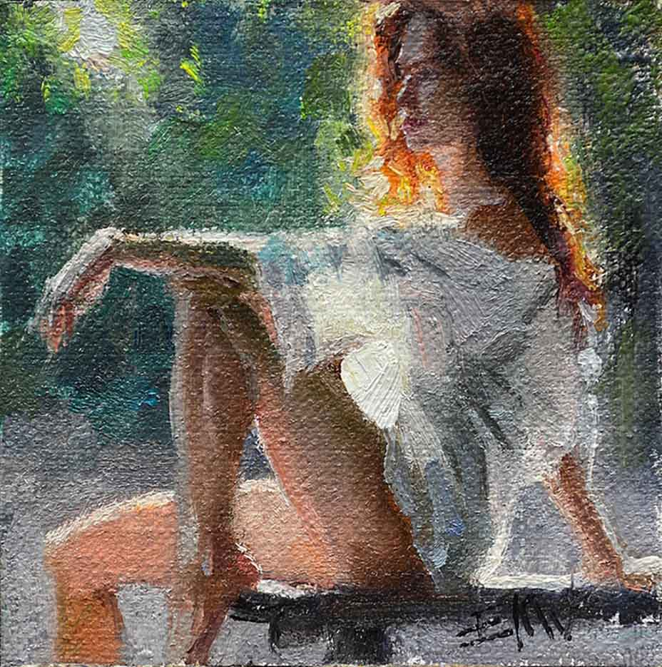 "Эрик Уоллис (Eric Wallis) ""Untitled – 128"""