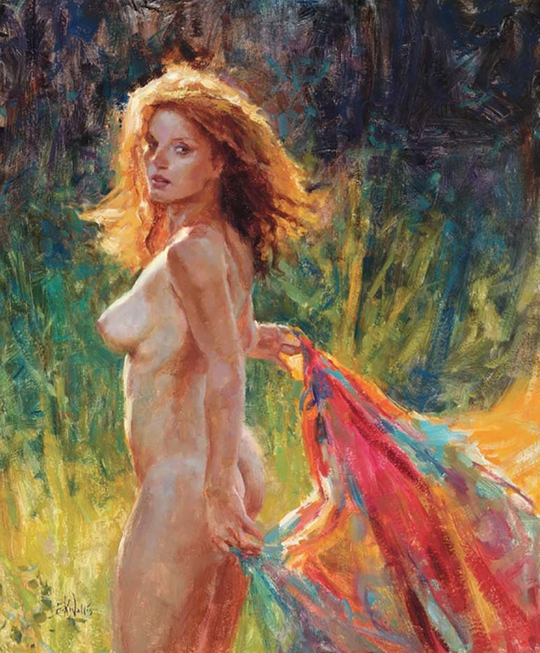 "Эрик Уоллис (Eric Wallis) ""Untitled – 132"""