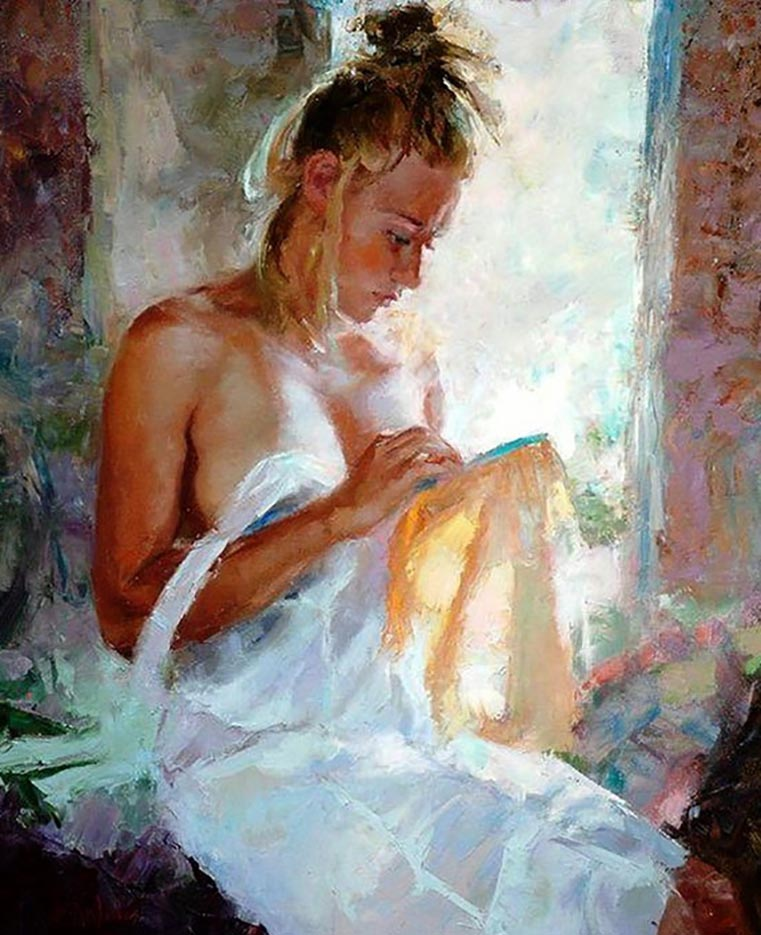"Эрик Уоллис (Eric Wallis) ""Untitled – 133"""