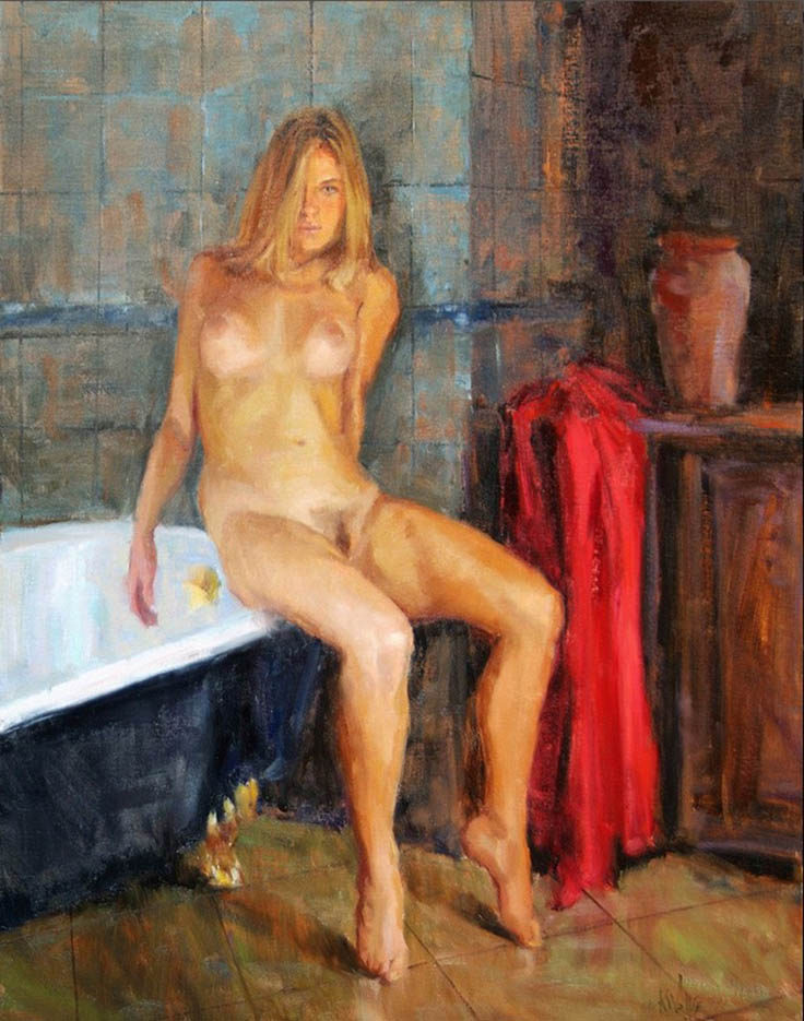 "Эрик Уоллис (Eric Wallis) ""Washroom No1 Edge"""