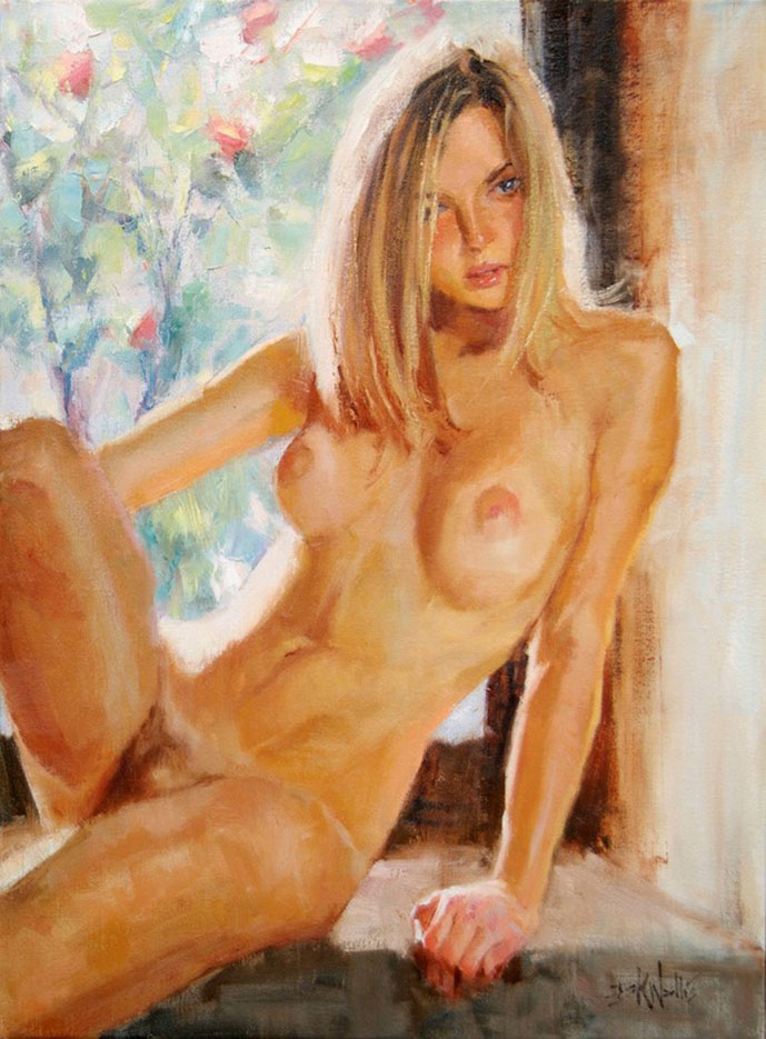 "Эрик Уоллис (Eric Wallis) ""Washroom No2 Window"""