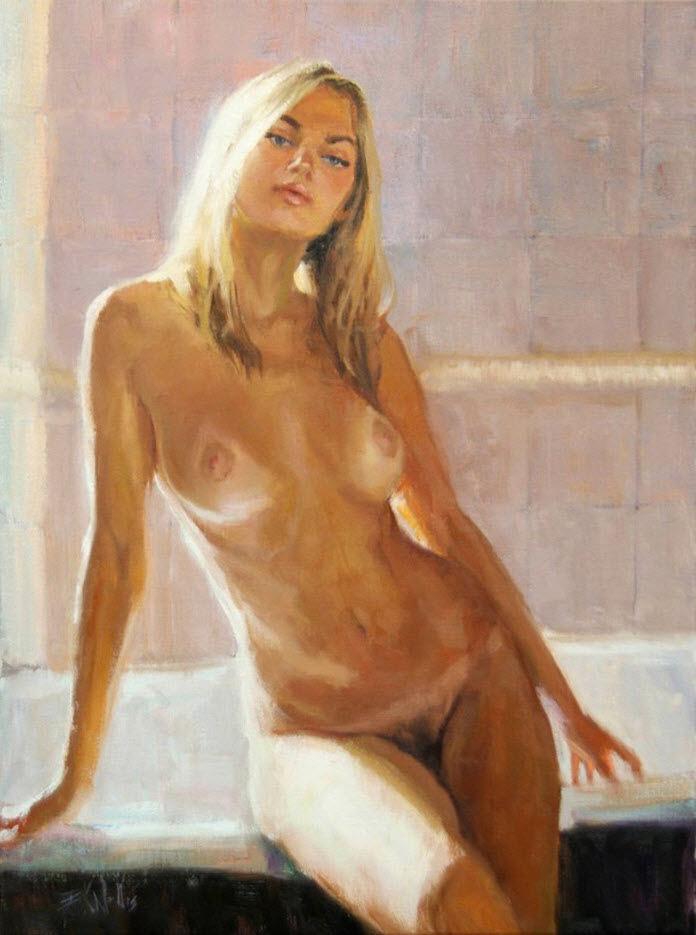 "Эрик Уоллис (Eric Wallis) ""Washroom No3 Waiting"""