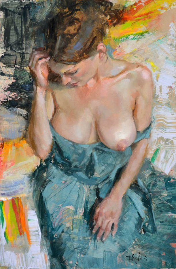"Эрик Уоллис (Eric Wallis) ""Woman In Blue"""