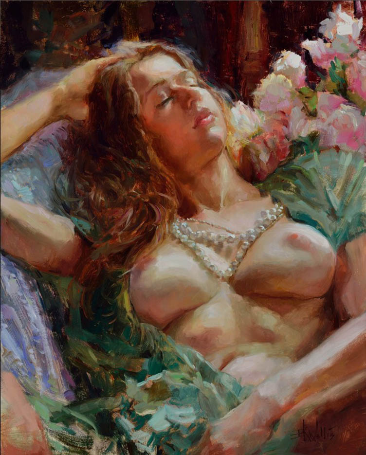 "Эрик Уоллис (Eric Wallis) ""Pearls And Peonies"""