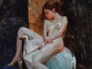 "Эрик Уоллис (Eric Wallis) ""Nude At Rest"""