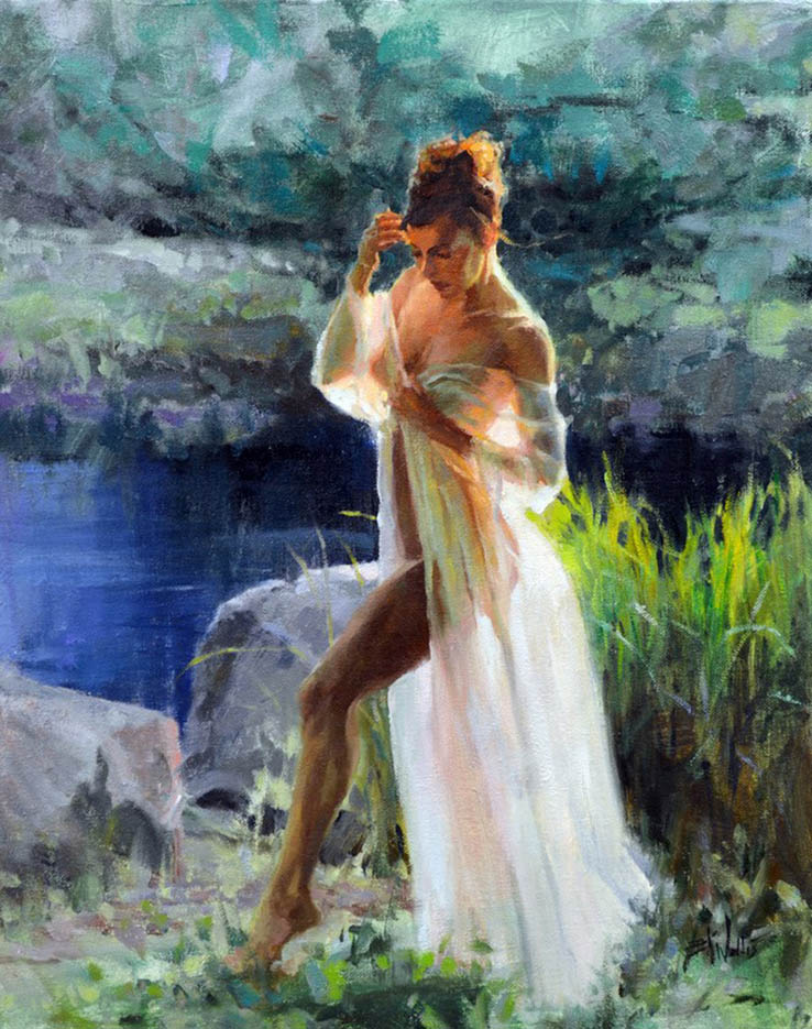 "Эрик Уоллис (Eric Wallis) ""By The Pond"""